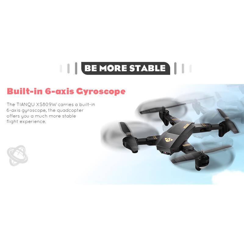 XS809W folding drone (28)