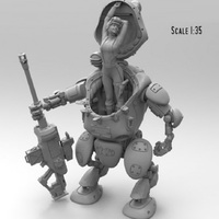 1:35 Resin Figure Model Kit Unassambled Unpainted figures high quality SZR0001