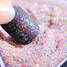 Nail-Art-Decorations Holographic-Nail-Powder Glitter Laser Chrome-Pigment Shimmer Wholesale