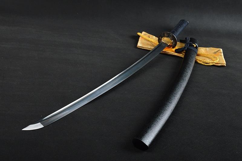 Bradon Svärd Lång Handgjord Japansk Samurai Katana Skarp Full Tang - Heminredning - Foto 2
