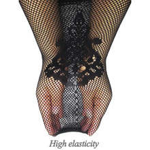 2017 Hot Sheer Tight Women Embroidery Sexy Lingerie Thigh Stocking Slim net Lace Top Garter Belt Pantyhose for lady clothes new