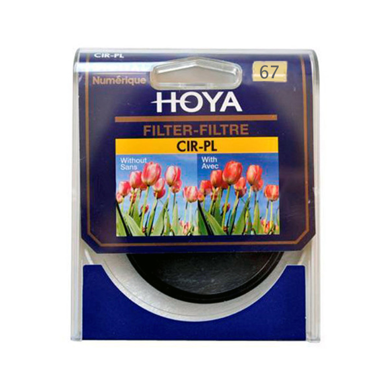 67mm HOYA CPL CIR-PL Slim Ring Polarizer Filter Digital Lens - Kamera og bilde