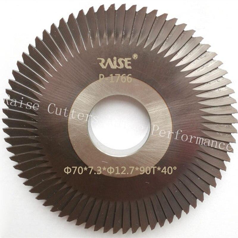 (0011 #) Erhöhen Hss Doppel Winkel Fräser Mit Nano-beschichtung Für Kupfer Und Eisen Schlüssel Durchblutung Aktivieren Und Sehnen Und Knochen StäRken