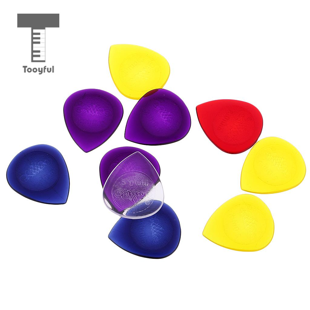 Tooyful Plastic Alice Pick Plectrums Thickness for Acoustic Electric Guitar Bass 2mm