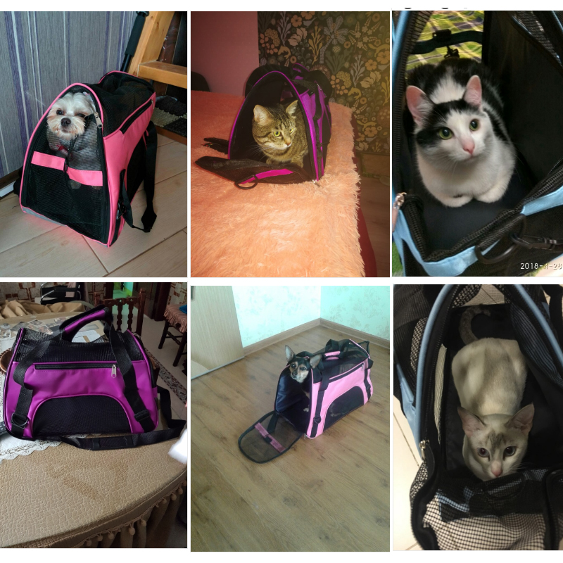 Outdoor Dog Carrier For Small Dogs Shoulder Bag Backpack Breathable Dog Carriers For Cats Chihuahua Animal Pet Accessories #3