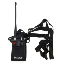 Walkie Talkie Pouch MSC-20C Nylon Radio Bag Case Holder For Baofeng UV-B5 UV82 UV8 D GT-3 UV5R BS