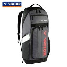 Виктор Марка Для мужчин Для женщин сумка для спортзала Для женщин для ракеток для бадминтона и тенниса открытый спортивный рюкзак BR8809