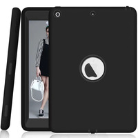For Apple IPad 2017 9 7 Inch Shockproof Case New Kids Safe Silicone Heavy Duty Full
