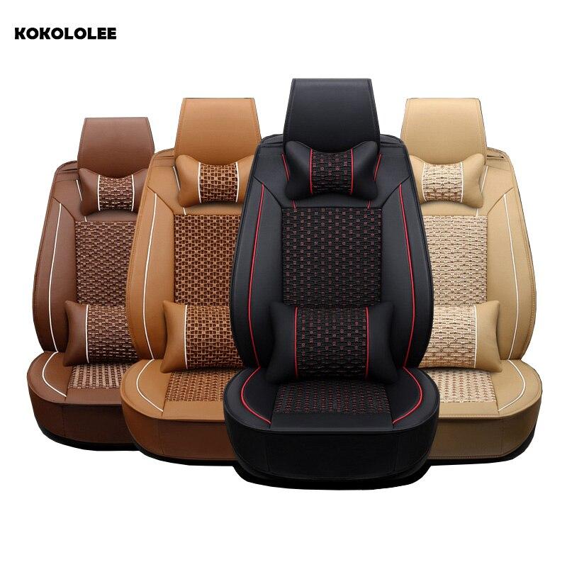 KOKOLOLEE car seat covers for Toyota Lada Renault Audi Peugeot suzuki Automobiles Seat Covers bmw opel