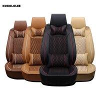 מושב מכסה מכונית עבור טויוטה לאדה KOKOLOLEE אאודי רנו פיג 'ו סוזוקי מושבי מושב מכסה מכוניות bmw אופל kia רכב מגן
