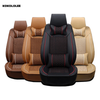 KOKOLOLEE Car Seat Covers For Toyota Lada Renault Audi Peugeot Suzuki Automobiles Seat Covers Bmw Opel