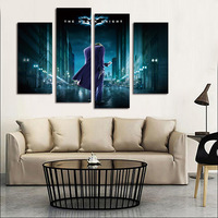 FOUR PC NO FRAME Shadow Killer Oil Painting Printed Oil Painting On Canvas Oil Painting Home