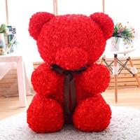 60cm Rose Teddy Bear Toys Stuffed Soft Bear Doll Valentine S Day Birthday Gift For Girlfriend