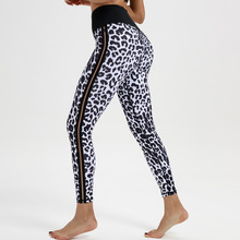 Leopard Gym Leggings Sexy Women Print Yoga Pants Push Up Fitness Quick Dry Pant High Elastic Running Tights