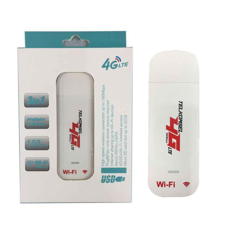 4G LTE USB מודם רשת מתאם עם WiFi Hotspot ה-SIM כרטיס 4G אלחוטי נתב עבור Win XP Vista 7/10 Mac 10.4 IOS