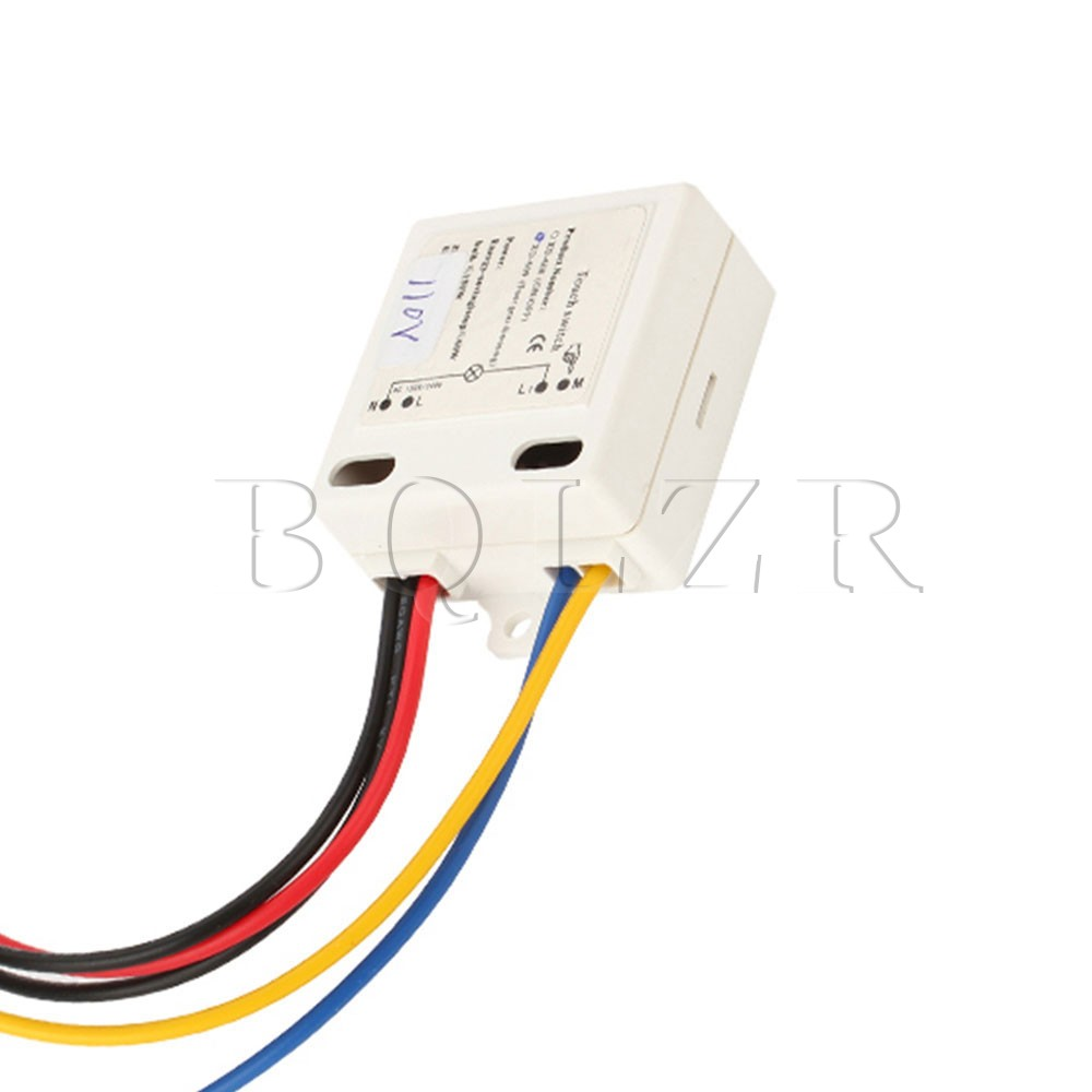 BQLZR White 4 Way ONOFF Touch Dimmer Switch Control Sensor 150W