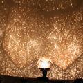A la Venta! nueva caliente popular celestial lámpara del proyector diy planetario amo de la estrella del cielo nocturno luz para fiesta romántica