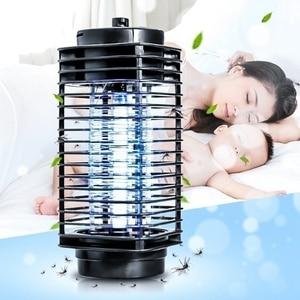 Image 2 - Super piège électrique, nouveau Super piège, répulsif anti moustiques, photocatalyseur, lampe de nuit avec prise US/ue LED