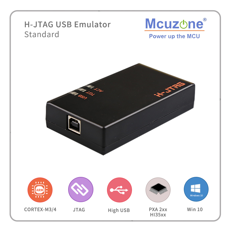 ARM HJTAG USB Emulator, STANDARD EDITION USB2.0 HighSpeed HJTAG Arm9 Arm7 Cortex-M