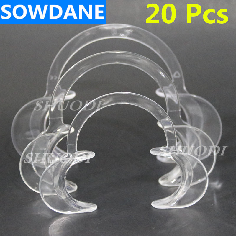 Dental Material Oral Care Teeth Whitening Orthodontic C Type Tooth Intraoral Lip Cheek Retractor Mouth Opener