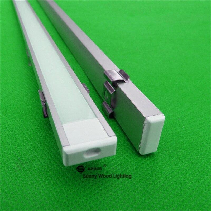 20 60m lot 10 30 PCS 80inch 2m long anodized led aluminium profile for 5050 5630