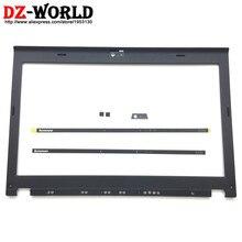 Новинка, оригинальный ЖК дисплей, передняя панель корпуса для ThinkPad X220 X230 w/светодиодный индикатор, пластина камеры, винтовые крышки 04W2186 04Y1854