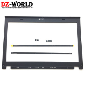 Image 1 - Новинка, оригинальный ЖК дисплей, передняя панель корпуса для ThinkPad X220 X230 w/светодиодный индикатор, пластина камеры, винтовые крышки 04W2186 04Y1854