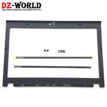 Nieuwe Originele LCD Front Shell Bezel Cover voor ThinkPad X220 X230 w/LED Light Indicator Camera Plaat Schroef Covers 04W2186 04Y1854