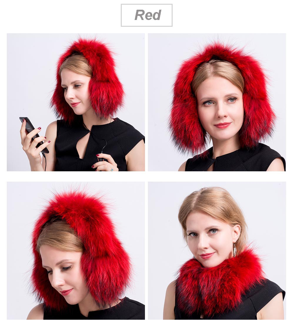 fox fur earmuff color 7