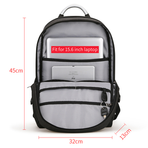 Image 4 - Mark Ryden New Arrivals Usb Recharging Anti thief Backpack Waterproof Two Size Fashion Portable Bag Male
