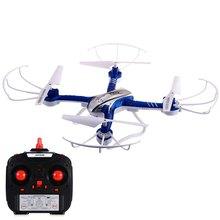RC Drone Dron 2.4 GHz 4CH 6 Axis Gyro 3D Rollover Drones Versión Headless Modo RTF Quadcopter Helicóptero de Control Remoto juguetes