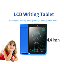 1pc 4.4 inches Portable LCD Writing Drawing Board Tablet Pad Notepad Electronic Graphics Digital Handwriting with stylus pen