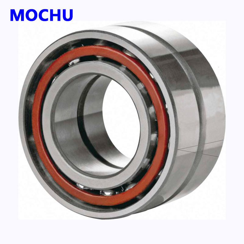 1pair MOCHU 7211 7211-C-T-P4-DBL 55x100x21 Angular Contact Bearings Speed Spindle Bearings CNC ABEC-7 mochu 22213 22213ca 22213ca w33 65x120x31 53513 53513hk spherical roller bearings self aligning cylindrical bore