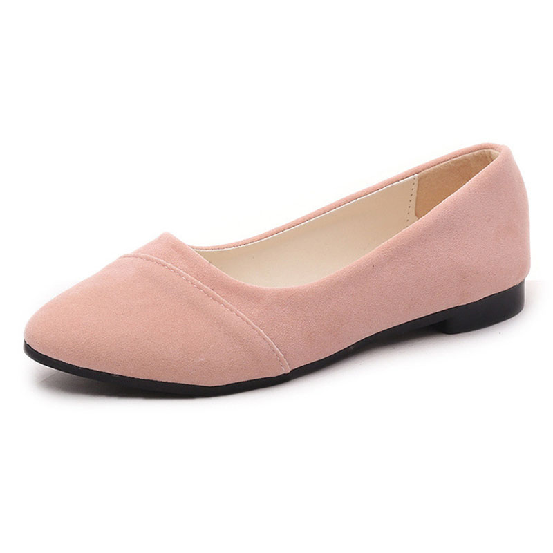 Women Flats Shoes Woman Loafers Spring Autumn Flat Casual Shoes Women   suede   Zapatos Mujer