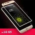 3D Полный Закаленное Стекло-Экран Протектор для LG G5 H830 мобильный Телефон Super Clear Анти Explostion 2.5D 9 H 0.3 мм Стекло протекторы