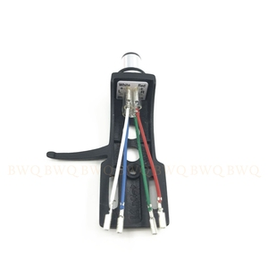 Image 2 - Combom! Magnetic Cartridge Stylus With Turntable Headshell 4 Pin Contacts For Phonograph Turntable Gramophone LP Vinyl Needle