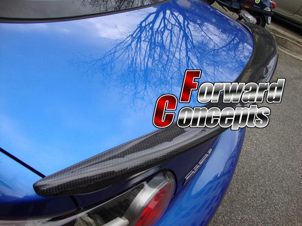 FOR CARBON FIBER 04-10 <font><b>RX8</b></font> JDM REAR <font><b>WING</b></font> TRUNK SPOILER image