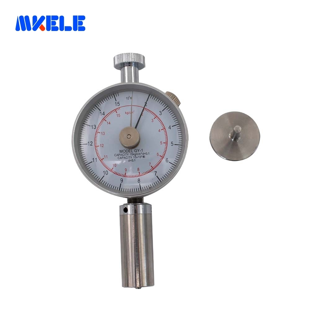 Fruit Hardness Tester Sclerometer Penetrometer Durometer Meter Gauge GY 1 special for inspecting the hardness of