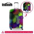 Dispalang круговая картина дорожного чемодана багажа обложка Характеристика дизайн толстые упругие троллейбус охватывает протектор для женщин