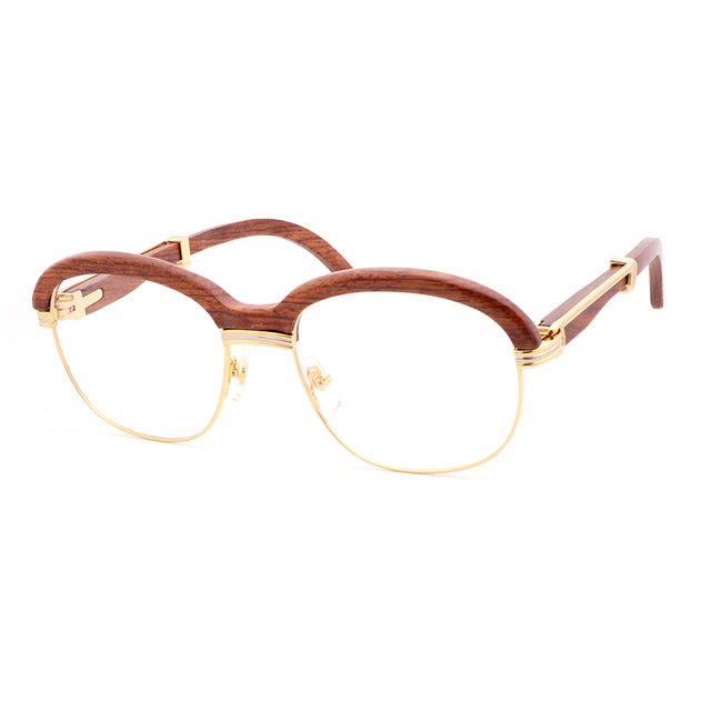 Wooden Sunglasses  Retro Shades Eyewear 2