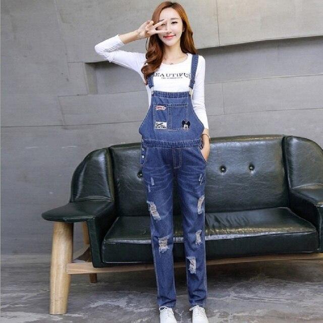 Беременным подтяжки женские джинсы беременные комбинезон для беременных с осень и весна джинсы FY15602