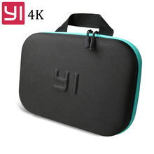 Xiaoyi Yi Bag portable handbag waterproof Collecting Storage Case for Xiaomi Yi 2 4k Lite 4K+ Sports Action Camera Accessories international xiaomi yi 4k plus action camera 2 19 ambarella h2 for sony imx377 12mp 155 degree 4k sports camera touchscreen