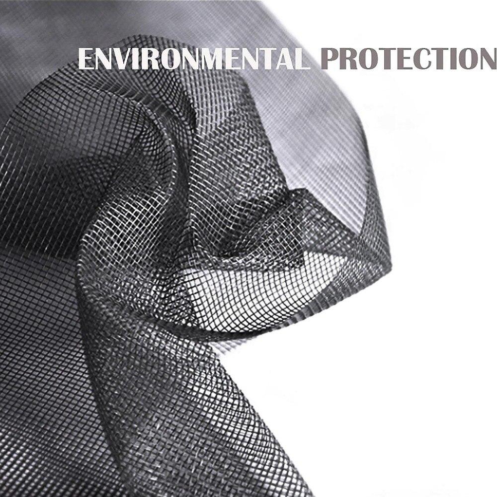 30 M/roll Nano Onzichtbare Brandwerende Fly Mosquito Scherm Netto Mesh voor Deur Window, beschermen Baby & Familie van Insect en Bug-in Vensterscreens van Huis & Tuin op  Groep 3