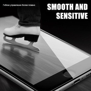 Image 4 - 5D rond bord incurvé verre trempé pour iPhone 6 6s Plus 7 8X11 11 Pro verre couverture complète protecteur décran Premium 5D protection