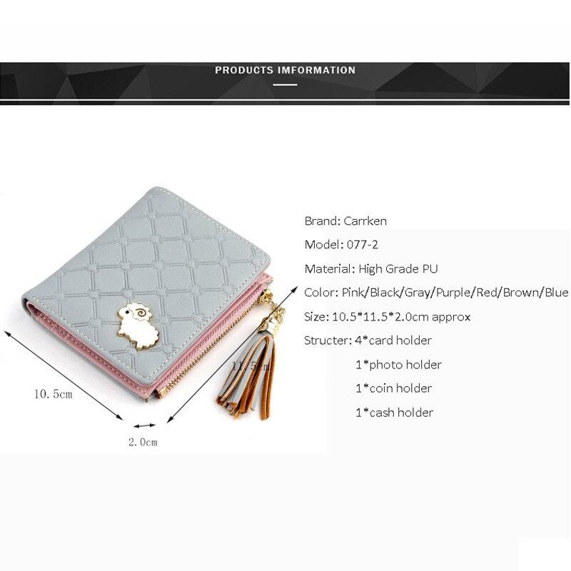 Pig Pattern Long Leather Wallet Card Holder Zipper Purse Clutch Bag for Women