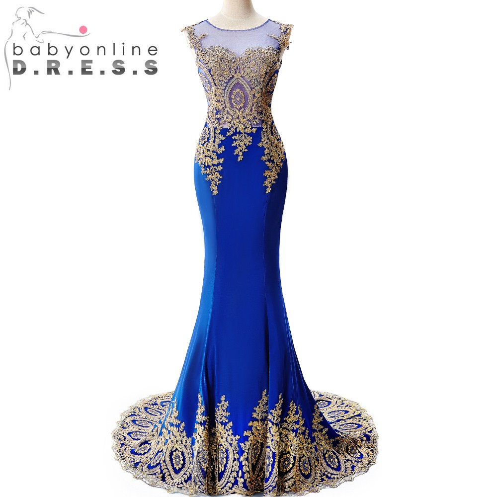 Compare Prices on Royal Blue and Gold Bridesmaid Dresses- Online ...