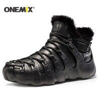 Onemix Winter Men Boots Running Shoes For Women Outdoor Trekking Shoe Sneakers Walking Shoes Autumn Winter