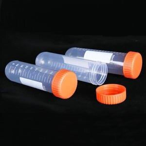 Image 2 - 10/15/50ml Runde/Kegel/Flachen boden Kunststoff Zentrifuge Rohr mit Schraube Kappe für arten von Labor Experimente Freies verschiffen