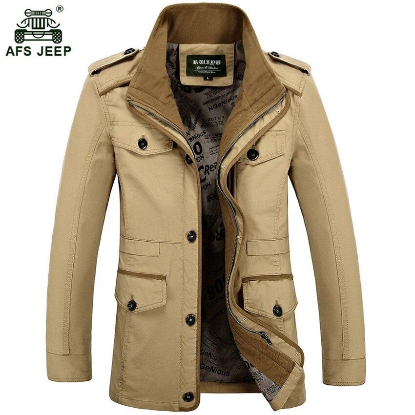 2018 offre spéciale nouveau hommes extérieur vestes printemps affaires veste hommes coton lâche Long manteau hommes manteau livraison gratuite 109D