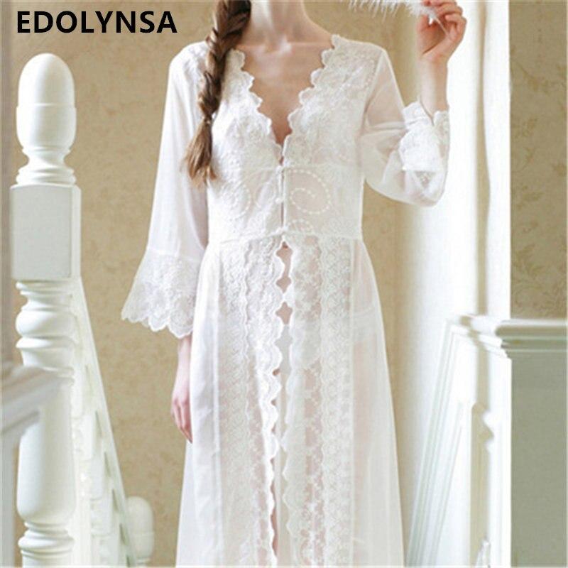 Robe de nuit transparente pour femme